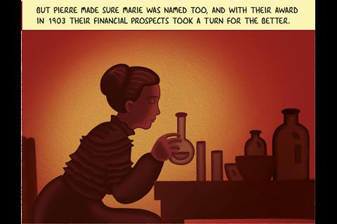IYPT Comic – Radium part 2 – Frame 6